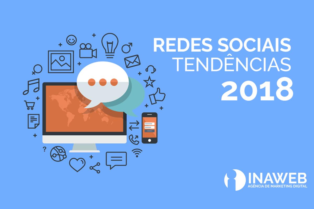 tendências de redes sociais para 2018